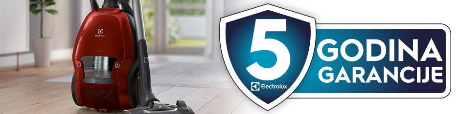 Electrolux usisavači sa 5 godina garancije