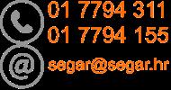 Kontakt podaci Segar