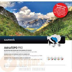AdriaTopo Pro - rutabilna topo karta