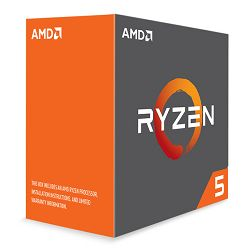AMD Ryzen 5 1600X, 3,6GHz, 19MB, AM4, bez hladnja