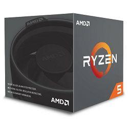 AMD Ryzen 5 2600X, 6C/12T 3,6GHz/4,2GHz, 19MB, AM4