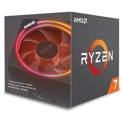 AMD Ryzen 7 2700X, 8C/16T 3,7GHz/4,3GHz, 20MB, AM4