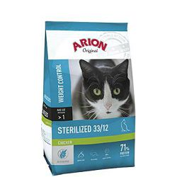 ARION Original Sterilized Chicken 33/12 - 2 kg