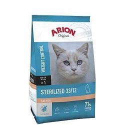 ARION Original Sterilized Salmon 33/12 - 2 kg