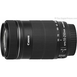 Canon EF-S 55-250 mm f/4-5.6 IS STM