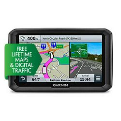 Cestovni GPS Garmin Camper 770LMT-D E Lifte time update, Bluetooth, 7