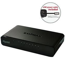 Edimax Gigabit SOHO switch 5800G V3,8-port, USB