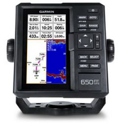 Fishfinder Garmin 650 (6