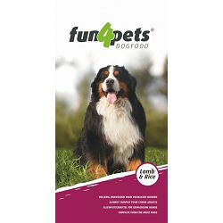 Fun4Pets Lamb & Rice - 15 kg
