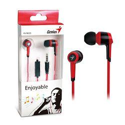 Genius HS-M225R,in-ear slušalice,crvene