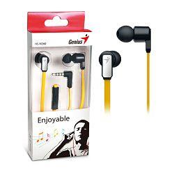 Genius HS-M260GY,in-ear headset,zlatno-bijele