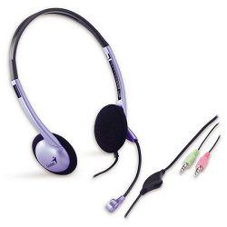 Genius HS-02B set, slušalice i mikrofon
