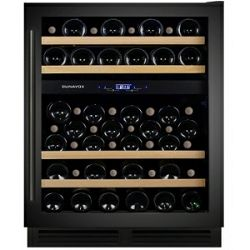 Hladnjak za vino ugradbeni Dunavox DX-53.130DBK/DP