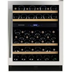 Hladnjak za vino ugradbeni Dunavox DX-53.130SDSK/DP