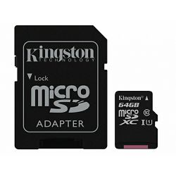 Kingston microSDHC, Class10, 64GB