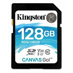 Kingston Canvas Go!, R90MB/W45MB, 128GB