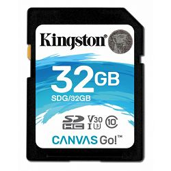 Kingston Canvas Go!, R90MB/W45MB, 32GB