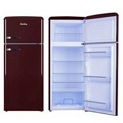 Kombinirani hladnjak Amica KGC15631R, A++, retro, tamno crveni