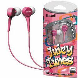 Maxell Juicy tunes slušalice, roze