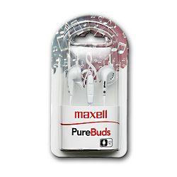 Maxell Purebudz slušalice, bijele, mikrofon