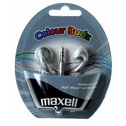 Maxell Stereo colour slušalice, srebrne