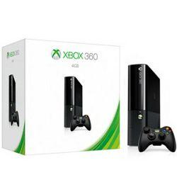 Microsoft Xbox 360 E 4GB + igra Peggle 2