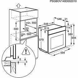 Pećnica Electrolux EOB8857AOX parna