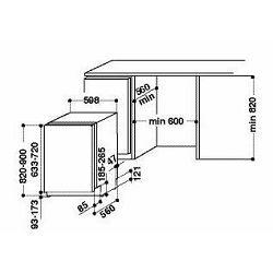 Perilica posuđa ugradbena Whirlpool WIC 3C23 PEF