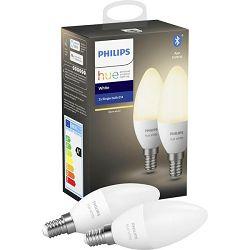 Philips HUE žarulja, E14, topla bijela, 6W, BT, 2x