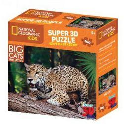 Puzzle 3D - jaguar National Geographic Kids