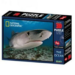 Puzzle 3D - morski pas National Geographic Kids