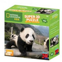 Puzzle 3D - panda National Geographic Kids