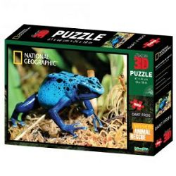 Puzzle 3D - žaba podrevnica National Geographic Kids