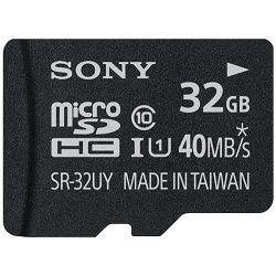 Sony microSDHC UHS-I R40, Class 10, 40 MB/s, 32GB