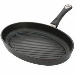 Tava AMT Gastroguss 3524G 35x24 cm 5cm vis ovalna riblja Grill