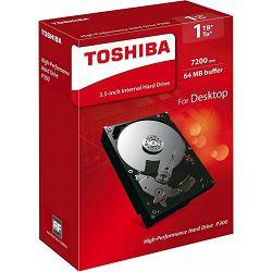Toshiba P300 1TB, 64MB, 7200rpm, retail