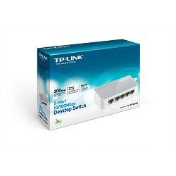 TP-Link TL-SF1005D, 5-port 10/100 switch,plastično