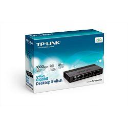 TP-Link TL-SG1005D, 5-port GbE switch, plastično