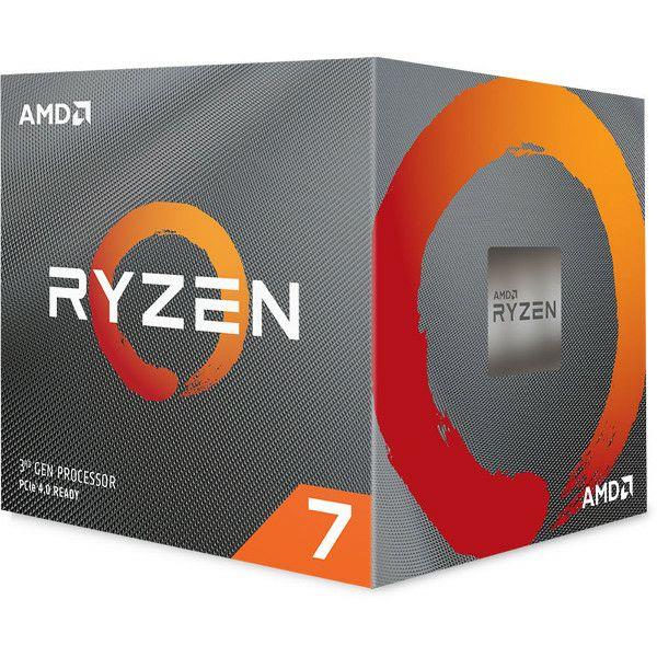 AMD Ryzen 7 3700X, 8C/16T 3,6GHz/4,4GHz, 32MB, AM4