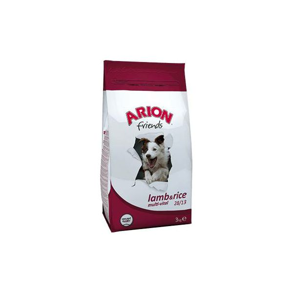ARION Friends Lamb & Rice Multi-Vital 28/13 - 3 kg