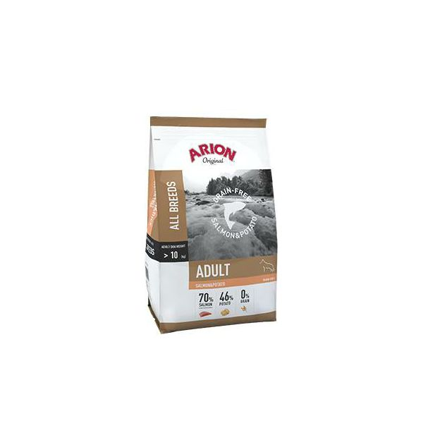 ARION Original Grain-Free Salmon & Potato - 3 kg