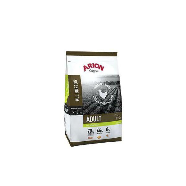 ARION Original Grain-Free Adult Chicken & Potato - 12 kg
