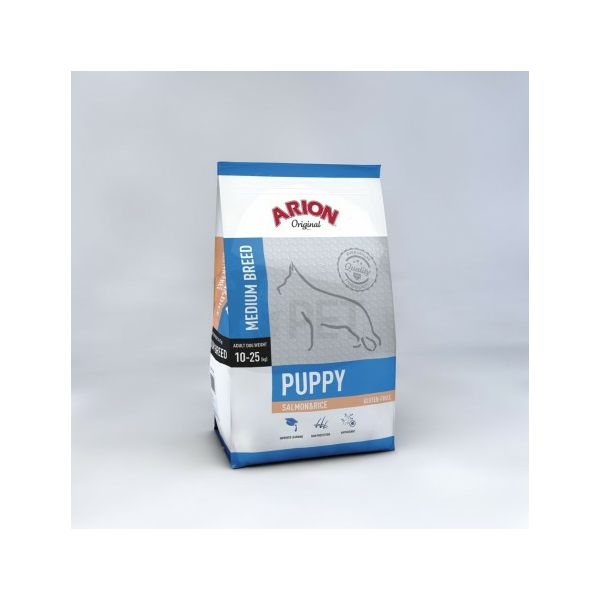 ARION Original Puppy Medium Salmon & Rice - 12 kg