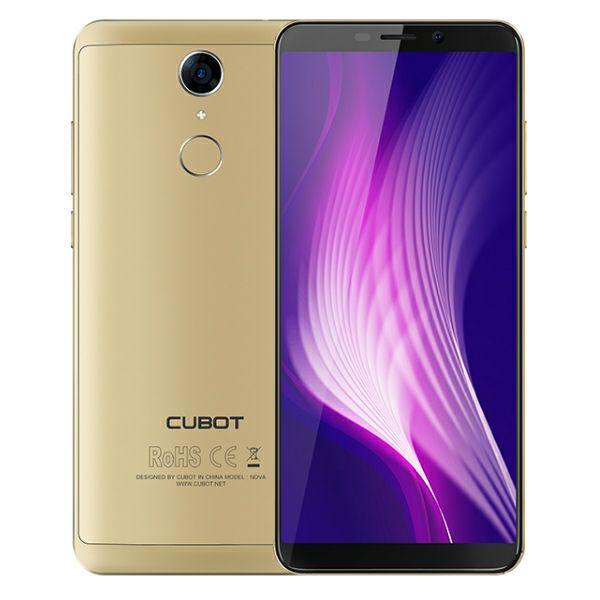 Mobitel Cubot Nova zlatni
